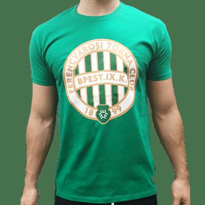 FTC címeres póló, zöld