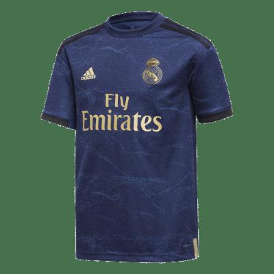 Adidas Real Madrid 2019/20 idegenbeli mez, gyerekméret