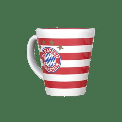 Bayern München bögre, csíkos,