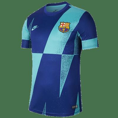 Nike FC Barcelona 2019/20 Dri-FIT tréningmez, kék