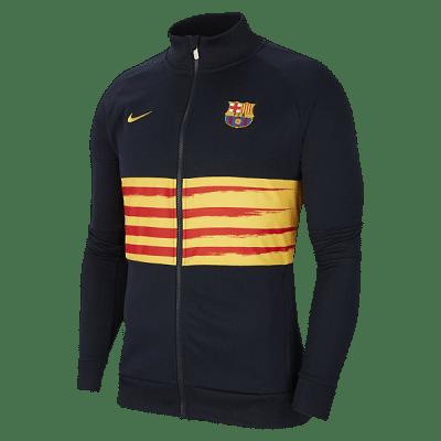 Nike FC Barcelona melegítőfelső, 2019/20, csíkos