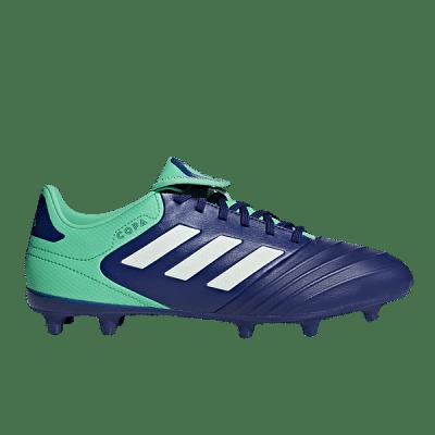 Adidas Copa 18.3 FG stoplis focicipő, kék-zöld