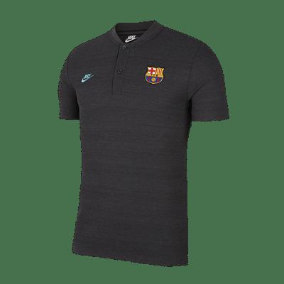 Nike FC Barcelona póló, 2019/20, antracit