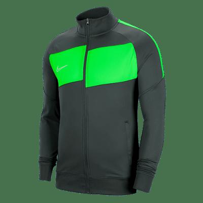 Nike Dri-FIT Academy melegítőfelső, szürke-zöld
