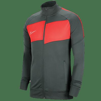 Nike Dri-FIT Academy melegítőfelső, szürke-élénk piros