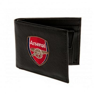 Arsenal FC pénztárca, bőr, hímzett