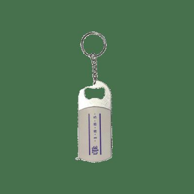 UTE kulcstartó, sörnyitóval és mérőszalaggal