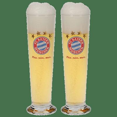 Bayern München söröspohár PILS, 2db-os
