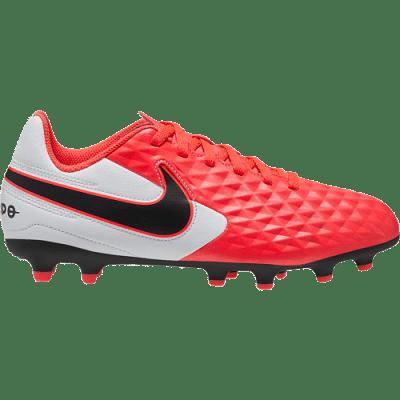 Nike Tiempo Legend 8 Academy FG/MG Jr. stoplis focicipő, gyerekméret,pink-fehér