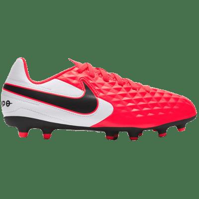 Nike Tiempo Legend 8 Club FG/MG Jr. stoplis focicipő, gyerekméret, pink-fehér