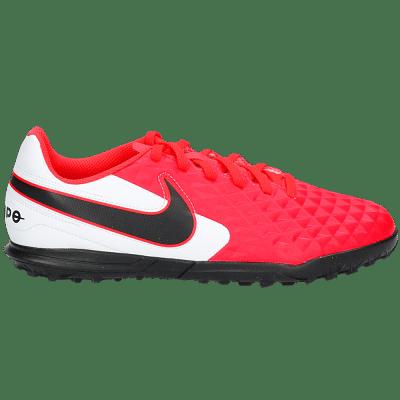 Nike Tiempo Legend 8 Club TF Jr műfüves focicipő, gyerekméret, pink-fehér