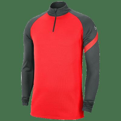 Nike Dri-FIT Academy Pro melegítőfelső, karmazsinvörös-antracit