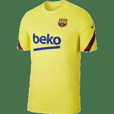 Nike FC Barcelona Strike Top edzőmez, sárga