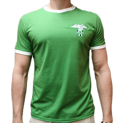 FTC Retro póló, zöld