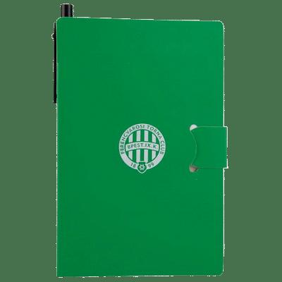 FTC jegyzetfüzet, zöld