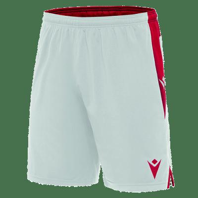 Macron Tempel rövidnadrág, fehér-piros