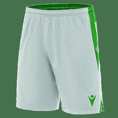 Macron Tempel rövidnadrág, fehér-zöld