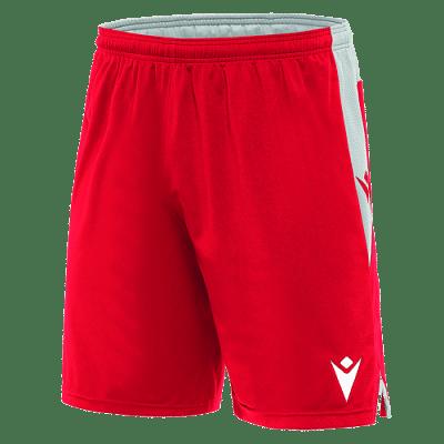 Macron Tempel rövidnadrág, piros-fehér