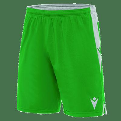 Macron Tempel rövidnadrág, zöld-fehér