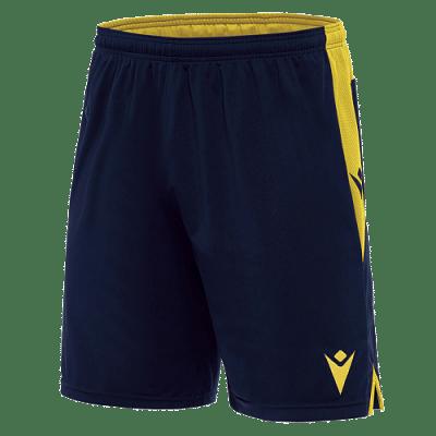 Macron Tempel rövidnadrág, sötétkék-sárga