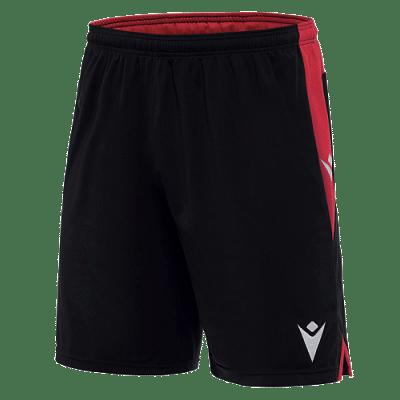 Macron Tempel rövidnadrág, fekete-piros
