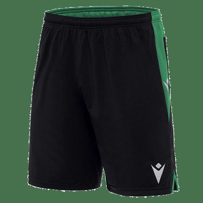 Macron Tempel rövidnadrág, fekete-zöld