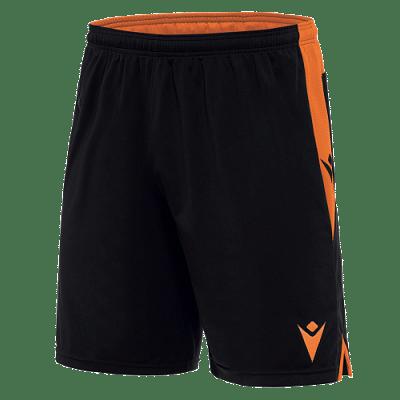 Macron Tempel rövidnadrág, fekete-narancssárga