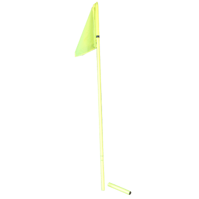 Szögletzászló, leszúrható, flexibilis (szett)