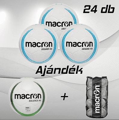 Macron Degree XG 24 db-os labdacsomag, kék