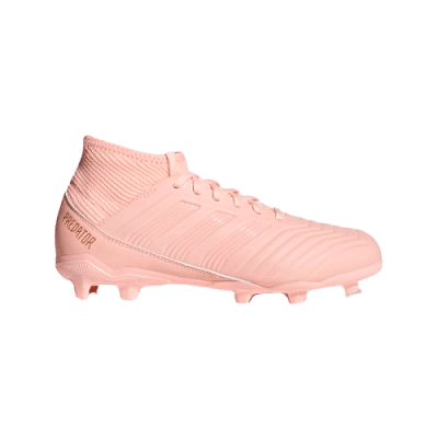 Adidas Predator 18.3 FG stoplis focicipő, gyerekméret, pink