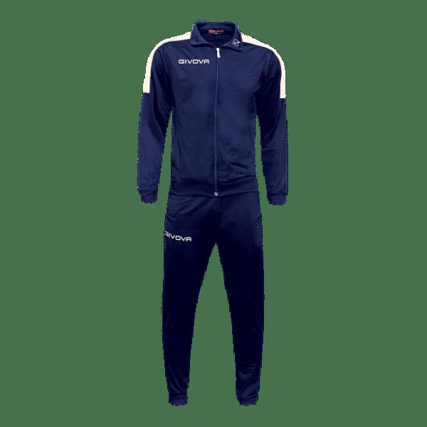 Givova Revolution Full Zip melegítő szett, kék-fehér