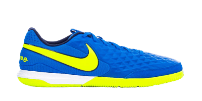 Nike Tiempo Legend 8 Academy IC teremcipő, kék-neonsárga