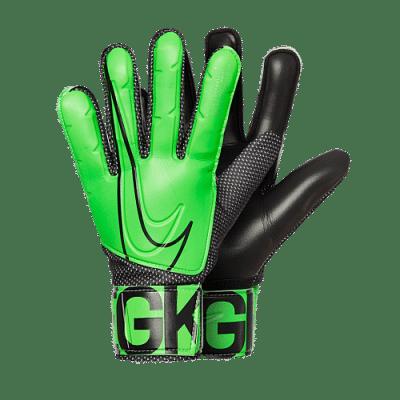 Nike Goalkeeper Match Jr. gyerek kapuskesztyű, zöld