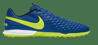 Nike Tiempo Legend 8 Academy TF műfüves focicipő, kék-sárga