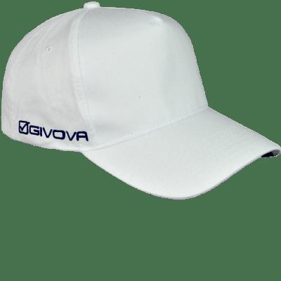 Givova Cappellino Sponsor baseball sapka, fehér