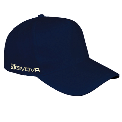 Givova Cappellino Sponsor baseball sapka, sötétkék
