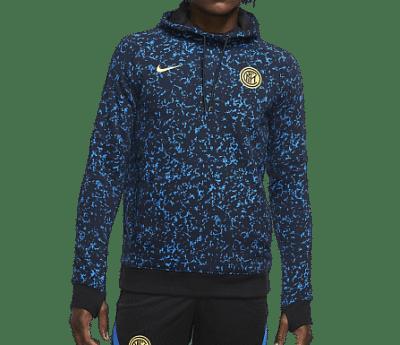 Nike Internazionale kapucnis polárpulóver