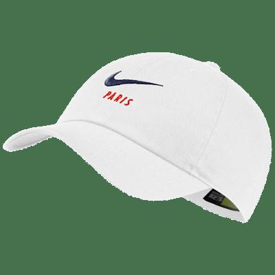 Nike PSG szurkolói baseballsapka, fehér