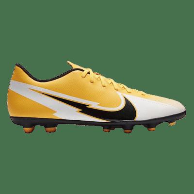 Nike Mercurial Vapor 13 Club FG/MG stoplis focicipő, sárga-fehér