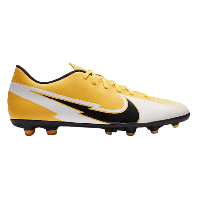 Nike Mercurial Vapor 13 Club FG/MG stoplis focicipő, sárga-fehér, gyerekméret