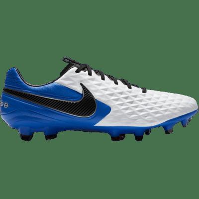 Nike Tiempo Legend 8 Pro FG stoplis focicipő, fehér-kék