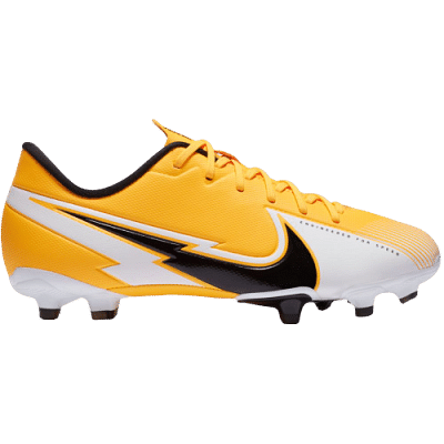 Nike Mercurial Vapor 13 Academy FG/MG stoplis focicipő, gyerekméret, sárga