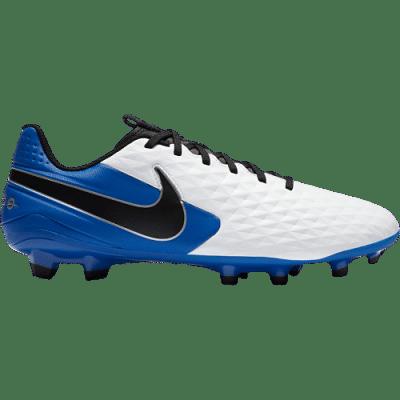 Nike Tiempo Legend 8 Academy FG/MG stoplis focicipő, fehér-kék