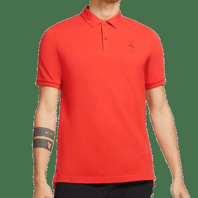 Nike Liverpool FC galléros póló, piros