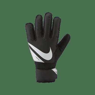 Nike Goalkeeper Match Jr. gyerek kapuskesztyű, fekete