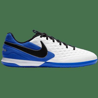 Nike React Tiempo Legend 8 Pro IC teremcipő, kék-fehér