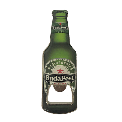 Magyarország sörnyitó+hűtőmágnes Budapest