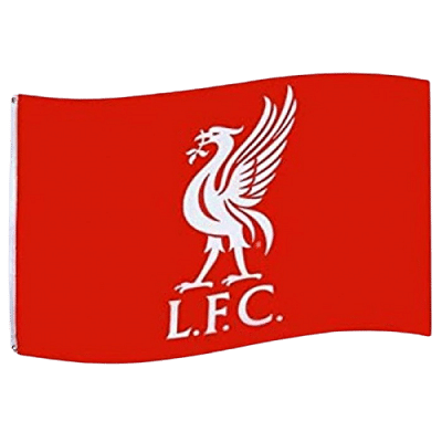 Liverpool FC  Zászló, 152x91 cm