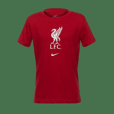 Nike Liverpool FC póló, címeres, gyerekméret
