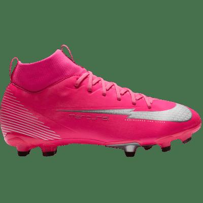 Nike Jr. Mercurial Superfly 7 Academy MG, stoplis focicipő, pink, gyerekméret